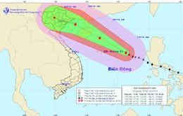 Cập nhật tin bão trên trên Biển Đông (ngày 17/7)
