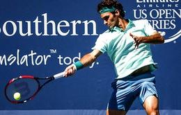 "Vòng 2 Cincinnati 2014: Federer thẳng tiến, ""tiểu Federer"" gục ngã"