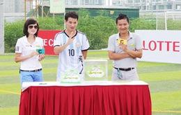 Cầu thủ tí hon 2014: Xuân Bắc đóng vai bảo mẫu