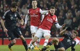 Bốc thăm Champions League: Man Utd thở phào, Arsenal tái đấu Bayern