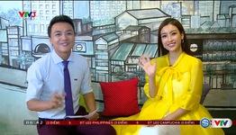 Hoa hậu Phạm Hương và hoa hậu Mỹ Linh gửi lời chúc U22 Việt Nam