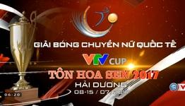 Giải Bóng chuyền nữ Quốc tế VTV Cup 2017 - Tôn Hoa Sen