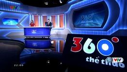 360 độ thể thao - 16/10/2017