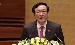 TRỰC TIẾP phiên chất vấn Chánh án Tòa án nhân dân tối cao Nguyễn Hòa Bình