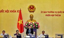 Khai mạc phiên họp 28 Ủy ban Thường vụ Quốc hội