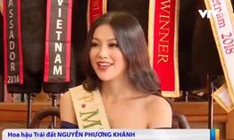 Gặp gỡ Hoa hậu Trái đất 2018 Nguyễn Phương Khánh