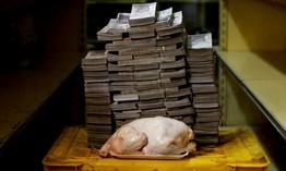 Siêu lạm phát tại Venezuela: 1kg thịt giá hơn 9 triệu Bolivar