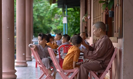 Chùa Hải Sơn - Mái nhà chung của những đứa trẻ mồ côi