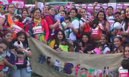 """Hàng nghìn người tham gia cuộc thi """"Chạy vì ung thư vú"""" tại Ấn Độ"""