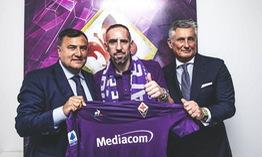 Ribery chính thức gia nhập Fiorentina