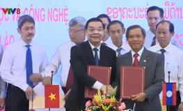 Việt Nam - Lào phối hợp phát triển khoa học công nghệ