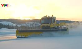 Na Uy thử nghiệm xe dọn tuyết tự động
