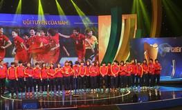 Cúp Chiến thắng 2017 vinh danh đội tuyển bóng đá nữ Việt Nam
