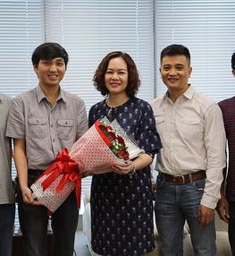 GLTT với Ban Tổ chức Robocon Việt Nam 2017