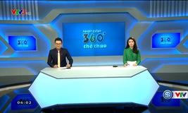 Nhịp đập 360 độ thể thao - 21/10/2017