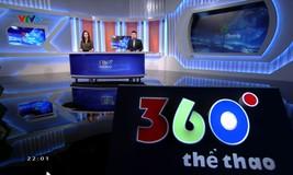 360 độ thể thao - 18/01/2019