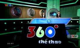 360 độ thể thao - 05/12/2019