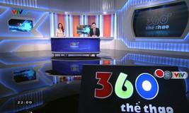 360 độ thể thao - 22/3/2019