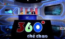 360 độ thể thao - 20/6/2019