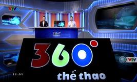 360 độ thể thao - 23/6/2019