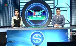 360 độ thể thao - 19/01/2020