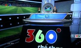 360 độ thể thao - 01/4/2020