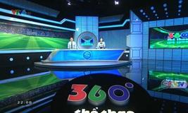 360 độ thể thao - 09/8/2020