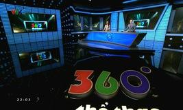 360 độ thể thao - 25/02/2021
