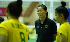 3 phút cùng sao: HLV Ngọc Hoa và mục tiêu cùng đội bóng chuyền trẻ VTV Bình Điền Long An