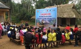 Thêm nhiều phòng học kiên cố cho học sinh vùng cao Thanh Hóa