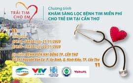 Trái tim cho em tổ chức khám sàng lọc tim miễn phí cho trẻ em tại Cần Thơ