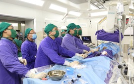 Lần đầu tiên triển khai thay van động mạch chủ qua da tại Quảng Ninh