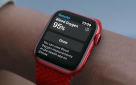 Đồng hồ thông minh Apple Watch có thể phát hiện COVID-19
