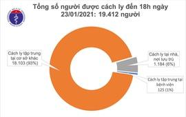 Hôm nay (23/1): Việt Nam không có ca mắc COVID-19 mới