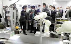 Nhật Bản sẽ dùng robot xét nghiệm COVID-19 tại Thế vận hội mùa hè