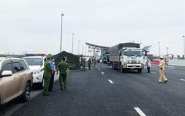 Quảng Ninh: Thiết lập chốt kiểm soát phòng chống dịch trên các tuyến giao thông ra vào tỉnh