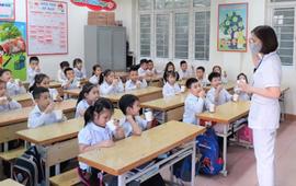 Quảng Ninh triển khai tẩy giun đồng loạt cho học sinh tiểu học trong tháng 11