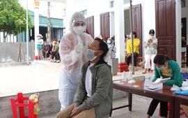 Nam Định: Tổng lực lấy mẫu xét nghiệm COVID-19 tại huyện Ý Yên