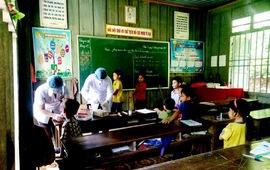 Nghệ An phát hiện 3 ca bệnh bạch hầu tại huyện miền núi Kỳ Sơn