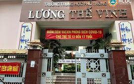 TP. Hồ Chí Minh: Huyện Củ Chi và quận 1 được chọn tổ chức tiêm vaccine phòng COVID-19 cho trẻ 12 - 17 tuổi đầu tiên