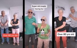 Cụ bà 81 tuổi tập thể dục gây bão TikTok