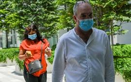 Công dân anh đầu tiên bị bỏ tù ở Singapore vì vi phạm lệnh cách ly