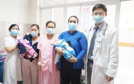 Hy hữu: Sản phụ mang song thai sinh con 1 ở nhà, 1 ở bệnh viện