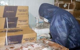 Đồng Nai: 42 mẫu xét nghiệm bao bì thực phẩm đông lạnh âm tính với SARS-CoV-2