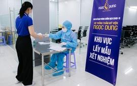 100% nhân viên hệ thống TMV Ngọc Dung âm tính với SARS-CoV-2 trước ngày mở cửa