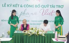 """Bệnh viện Thẩm mỹ Thu Cúc công bố quỹ tài trợ """"Vì phụ nữ Việt"""""""