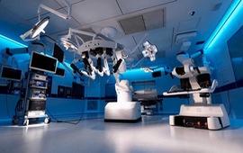 Thử nghiệm sử dụng robot phẫu thuật từ xa qua mạng 5G