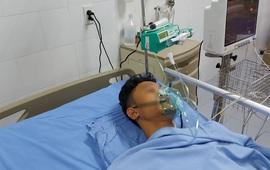 Nam bệnh nhân bị cây sắt xuyên thủng hậu môn vào ổ bụng