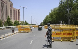 Ấn Độ phong tỏa Thủ đô trong 6 ngày