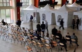 Pháp, Đức tăng tốc chiến dịch tiêm vaccine COVID-19